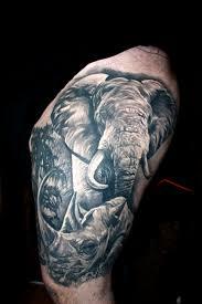 elephant tattoo vegas imgur