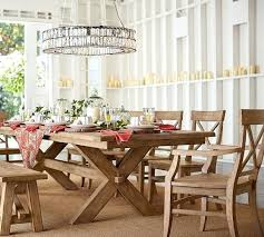 Black Extending Dining Table And Chairs Potterybarn Dining Table Photo 2 Of Painted Rectangular Extending