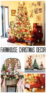 home decor ideas for christmas farmhouse christmas decor ideas for your home the country chic