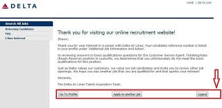 how to apply for delta airlines jobs online at delta com careers