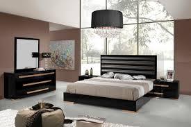 black and grey bedroom dark brown wooden drawer dark brown