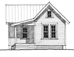 Allison Ramsey House Plans The Quarters House Plan C0076 Design From Allison Ramsey Architects