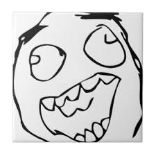 Meme Face Happy - meme face ceramic tiles zazzle