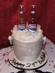 budweiser beer cake bud light beer ice bucket cake cake in cup ny