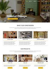 Best Interior Design Site by Styleinn Bootstrap Interior Design Website Template
