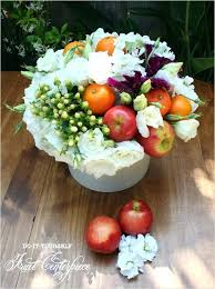 fruit flower arrangements fruit and flower arrangements eatatjacknjills