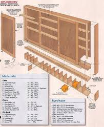 Pegboard Cabinet Doors by 1798 Shop Pegboard Cabinet Plans Workshop Solutions Workbench