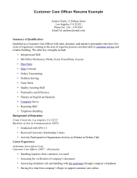 Resume Example For Customer Service by Customer Service Sample Resumes Free Resume Example And Writing