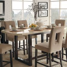 Modern Counter Height Dining Tables Best Bar Height Dining Room - Dining room table sets counter height