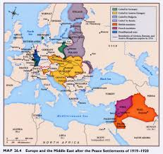 Map Of Europe After Ww1 by Afterversailles Jpg