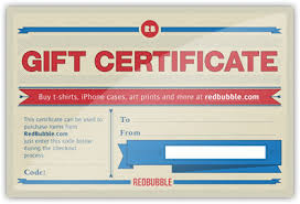 buy used gift cards gift certificates redbubble