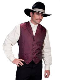 blackhawk high collar 5 colors up to 3xl tall old west scully vest
