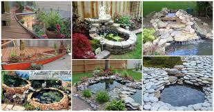 backyards wonderful simple pre formed pond with waterfall 66 diy