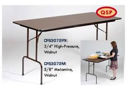 standing height folding table correll melamine top 36 standing height folding table 30 x 72 5