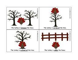 thanksgiving turkey prepositions for speech therapy linus slp