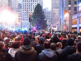 manhattan living best christmas tree lighting ceremonies in new
