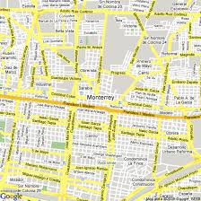 map of monterrey mexico hotels accommodation