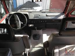 volkswagen vanagon 1987 vw vanagon syncro westfalia 4x4 full camper