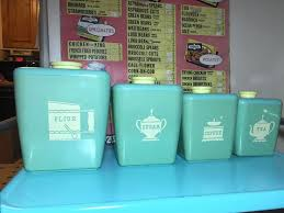 Green Canister Sets Kitchen - 188 best blue canisters images on pinterest canister sets