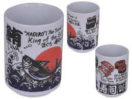 Japanesestyle King Japanese Style Sushi Tea Cup