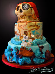 Pirates Map Awesome Pirate Ship Treasure Map And Skull Cake Emi Ponce De