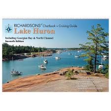richardsons chartbook and cruising guide lake huron chartbook maptech