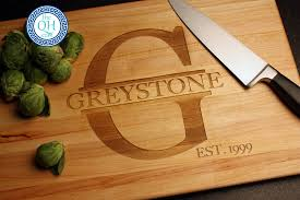 personalized cutting boards wedding modish personalized cutting board family housewarming home