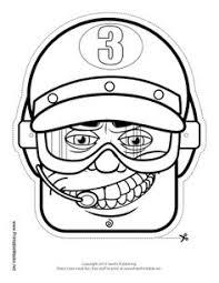 color blank robot mask custom robot