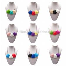 baby teething necklace silicone images Food safe mom nursing chewable jewelry wholesale silicone baby jpg