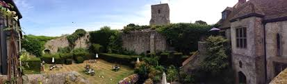 Old Castle Curtain Wall Whim Biscuit Romance And Fine Dining Medieval Style Amberley