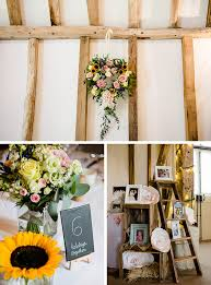 charlotte and stuart u0027s colourful wedding at clock barn real