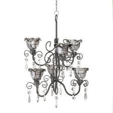 Ebay Black Chandelier Hanging Candle Chandelier Black Chandelier Candle Light Metal