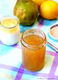 la m馘ecine passe par la cuisine confiture de poires au citron de christophe la médecine