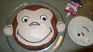 curious george birthday cake how to make a curious george birthday cake lim