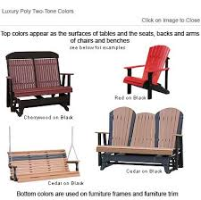 Used Adirondack Chairs Outdoor Poly Furniture Luxury Poly Paglcr Adirondack Glider Chair
