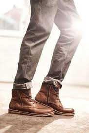 s boots style leather brown shoes h m hmclassic h m s