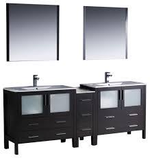 84 inch double sink bathroom vanity in espresso espresso very