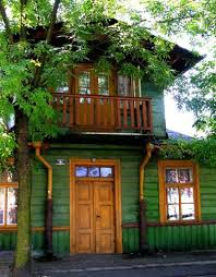 green with natural wood trim outdoor spaces pinterest