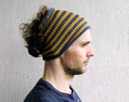 guys headbands knitted mens headband hat guys knit hair wrap unisex adults