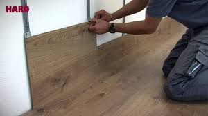 installation for floor on the wall haro laminate