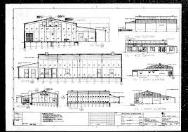 building plan elevation section image with section floor plan and