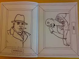 gangsta rap colouring book good kids bunch