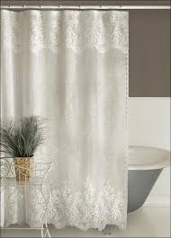 Seashell Curtains Bathroom Bathroom Marvelous Seashell Drapes Beach Print Shower Curtains