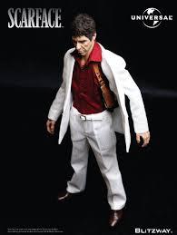 Tony Montana Halloween Costume Blitzway U0027s 12 U2033 Tony Montana U0027scarface U0027 Collectible Figure