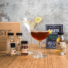 martini gin gin martini and martinez cocktail box by taste cocktails