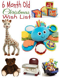 gift ideas for kids my 6 month old u0027s christmas wish list