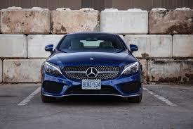 blue mercedes review 2017 mercedes c 300 4matic coupe canadian auto review