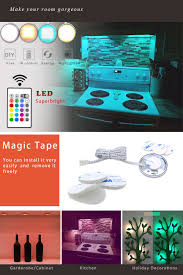Installing Under Cabinet Puck Lighting by Led Puck Light Maylit Under Cabinet Lighting Puck Lights With