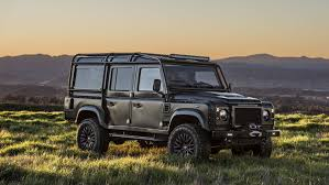 kahn land rover defender double cab land rover defender supertunes