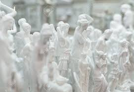 greek gods statues lot of statues of greek gods stock photo picture and royalty free